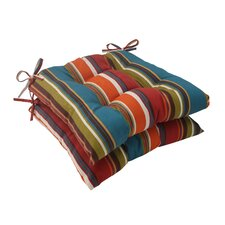<strong>Pillow Perfect</strong> Westport Tufted Seat Cushion (Set of 2)