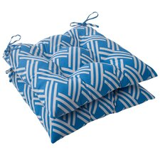 Carib Tufted Seat Cushion (Set of 2)