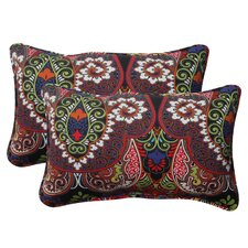 <strong>Pillow Perfect</strong> Marapi Corded Throw Pillow (Set of 2)
