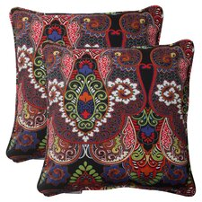 Marapi Corded Throw Pillow (Set of 2)