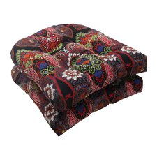 <strong>Pillow Perfect</strong> Marapi Wicker Seat Cushion (Set of 2)