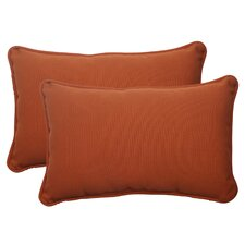 Cinnabar Corded Throw Pillow (Set of 2)