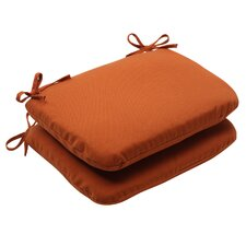 <strong>Pillow Perfect</strong> Cinnabar Seat Cushion (Set of 2)