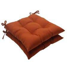 Cinnabar Tufted Seat Cushion (Set of 2)