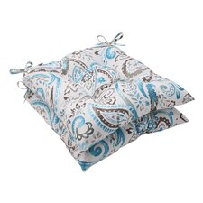 Paisley Tufted Seat Cushion (Set of 2)