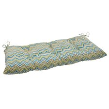 Cosmo Chevron Tufted Loveseat Cushion
