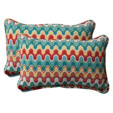 <strong>Pillow Perfect</strong> Nivala Corded Throw Pillow (Set of 2)