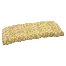 <strong>Pillow Perfect</strong> Rossmere Wicker Loveseat Cushion