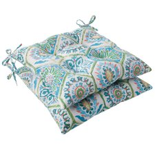 Summer Breeze Tufted Seat Cushion (Set of 2)
