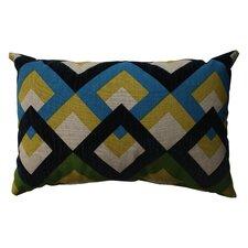 Overlap Geo Poly / Cotton Throw Pillow
