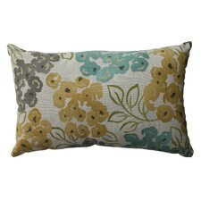 Luxury Floral Cotton Throw Pillow