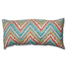 <strong>Pillow Perfect</strong> Chevron Cherade Polyester Throw Pillow