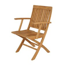 <strong>Barlow Tyrie Teak</strong> Monaco Carver Folding Chair