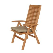<strong>Barlow Tyrie Teak</strong> Highback Chair Seat Cushion