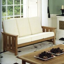 <strong>Barlow Tyrie Teak</strong> Mission Three Seater Deep Seating Set