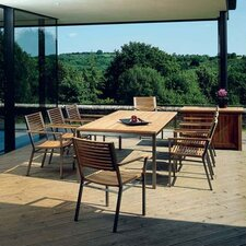 Equinox Teak 9 Piece Dining Set
