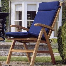<strong>Barlow Tyrie Teak</strong> Ascot Carver Dining Arm Chair with Cushion