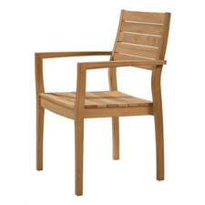 <strong>Barlow Tyrie Teak</strong> Horizon Teak Stacking Lounge Chair