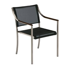 Quattro Stacking Dining Arm Chair