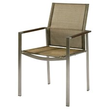 Mercury Stacking Dining Arm Chair