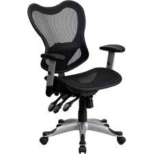Mid-Back Mesh Chair with Triple Paddle Control