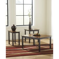Fletcher 3 Piece Coffee Table Set