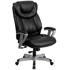 Hercules Series Leather Office Chair with Arms