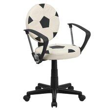 Soccer Mid Back Kid's Desk Chair