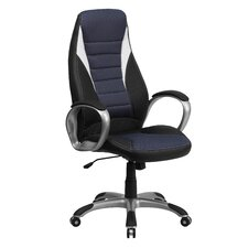 High-Back Mesh Executive Office Chair with Arms