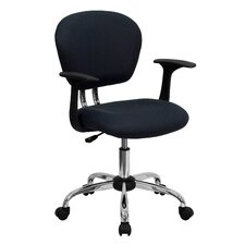 Low-Back Office Chair with Arms