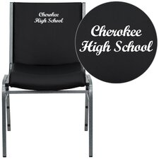 Hercules Series Personalized Heavy Duty Vinyl Stackable Chair