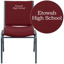 Hercules Series Personalized Heavy Duty Upholstered Stackable Chair