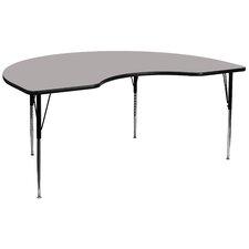 "96"" x 48"" Kidney Classroom Table"