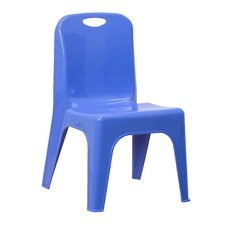 Plastic Stackable Classroom Chair with Carrying Handle