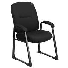 Hercules Series Executive Side Chair with Sled Base