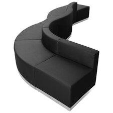 Hercules Alon Series 6 Piece Leather Reception Configuration Set