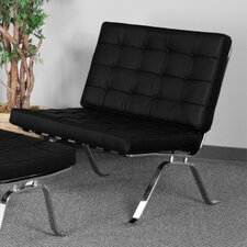 Hercules Series Leather Chaise Lounge