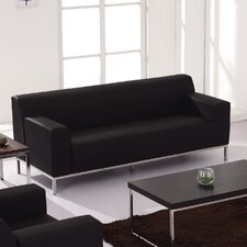 Hercules Definity Series Leather Sofa