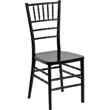 Flash Elegance Armless Chiavari Stacking Chair