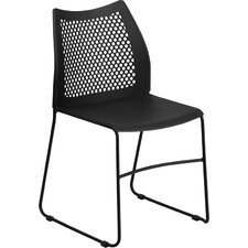 Hercules Series Sled Base Stackable Side Chair