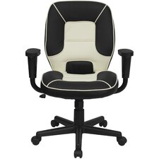<strong>Flash Furniture</strong> Mid-Back Vinyl Steno Executive Chair