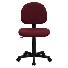Mid-Back Fabric Computer Task Chair