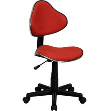 Student Mid-Back Task Chair with Metal Accent Bands