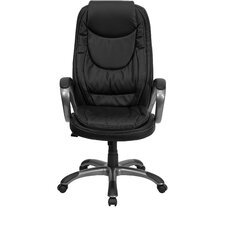 <strong>Flash Furniture</strong> Curved High-Back Office Chair