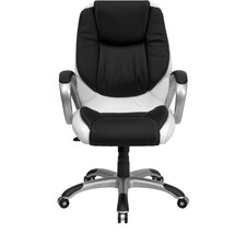 <strong>Flash Furniture</strong> Mid-Back Swivel Executive Chair