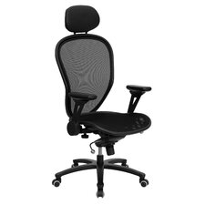 <strong>Flash Furniture</strong> High-Back Mesh Managerial Chair