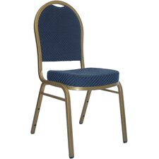 <strong>Flash Furniture</strong> Hercules Series Dome Back Stacking Banquet Chair