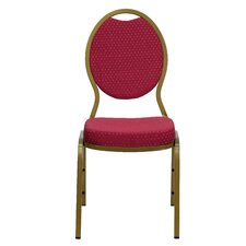 <strong>Flash Furniture</strong> Hercules Series Teardrop Back Stacking Banquet Chair