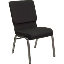 Hercules Series 18.5'' Wide Stacking Church Chair with 4.25'' Thick Seat