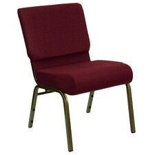 Hercules Series 21'' Extra Wide Stacking Church Chair with 4'' Thick Seat
